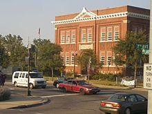 Old Miller School in Gary is now Queen Carolyn School